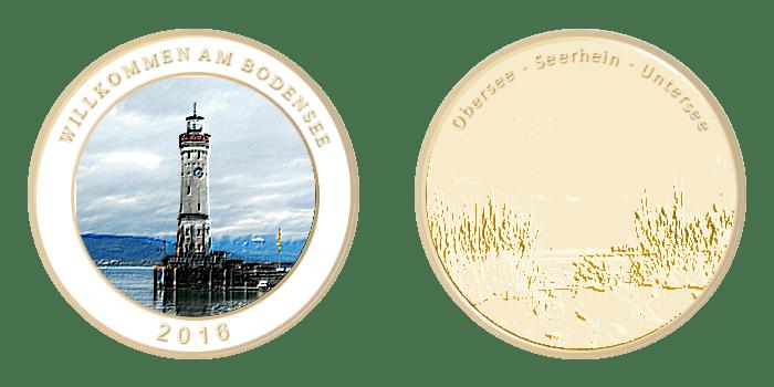 Gedenkmünze – Bodensee