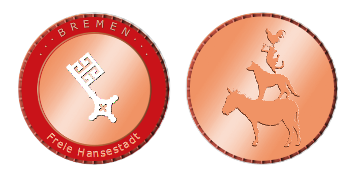 Gedenkmünze – Bremen