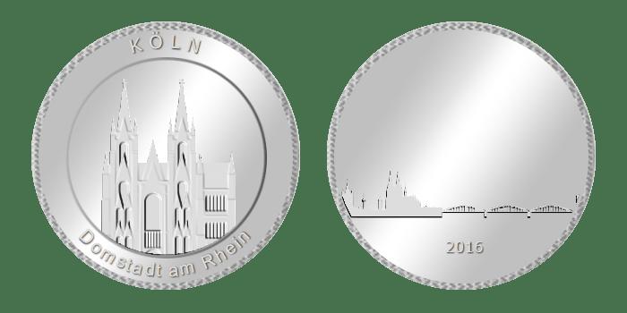 Gedenkmünze – Köln