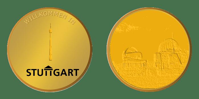 Gedenkmünze – Stuttgart